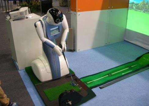 Robot InBirdie, capaz de jugar una ronda de golf