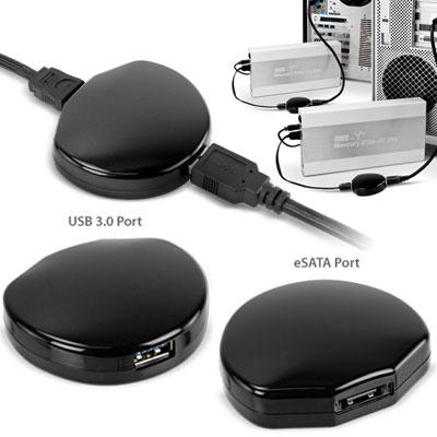 El conversor de USB 3.0 a eSATA funciona muy rápido