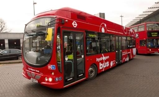 Los primeros Buses a hidrógeno ya circulan en Londres