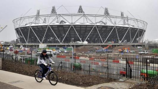 El Moderno Estadio Olímpico de Londres