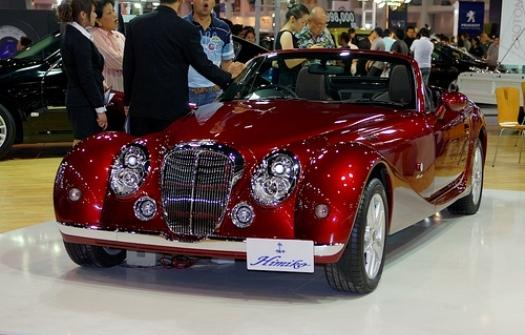 El Himiko Mitsuoka, un lujoso auto deportivo eléctrico