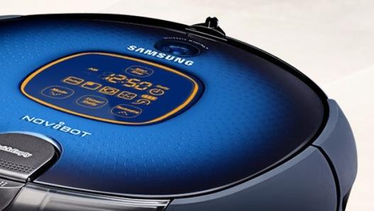 Navibot: un moderno robot de limpieza de Samsung