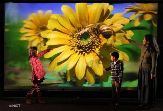 Crean pantalla 3D de 200 pulgadas que no requiere lentes especiales
