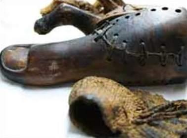 Antiguos egipcios también utilizaban prótesis