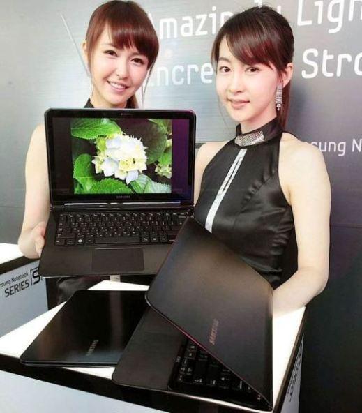 Samsung presenta su nueva notebook SENS Serie 9