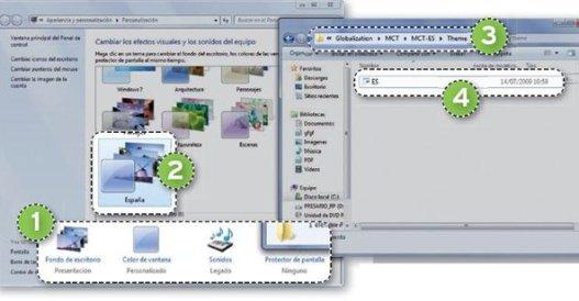 Descubre temas ocultos en Windows 7