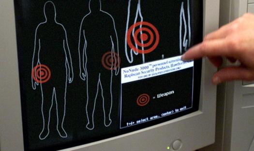 Nuevos escáneres corporales TSA que no muestran partes íntimas de las personas