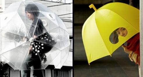 Creativos y variados modelos de Paraguas