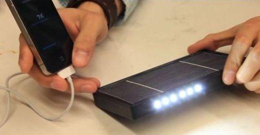 Emerald: Cargador solar portátil creado por alumnos de la Universidad de Michigan