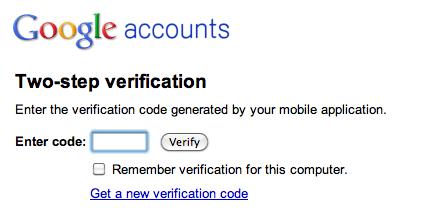 Google aumenta su seguridad con una contraseña adicional