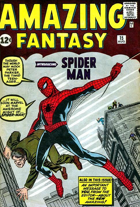 Cómic donde aparece el Hombre Araña por primera vez se vendió en 1.1 millón de dólares
