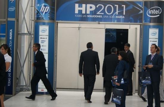 Evento HP 2011, en Lima (Perú)