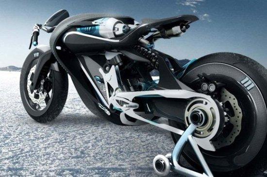 Saline Bird, una motocicleta que funciona con aire comprimido