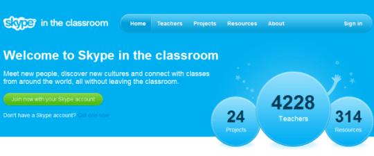 Skype lanza red social para relacionar profesores de todo el mundo