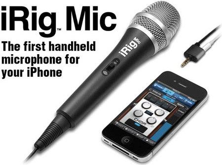 iRig Mic, el micrófono para iPhone y iPad ya está disponible