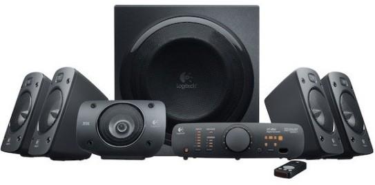 Logitech Z906: Un completo sistema de audio 5.1 con certificación THX