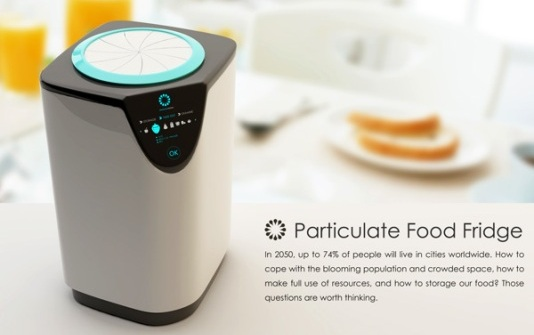 La mini nevera Particulate Food Fridge