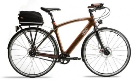 """Audi presenta su exclusiva bicicleta """"Audi Duo"""""""