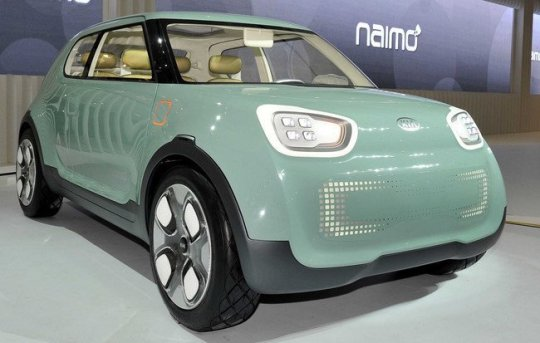 Kia presenta su nuevo auto eléctrico Kia Naimo