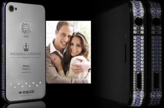 Goldgenie: iPhone Colección Conmemorativa en honor a la Boda Real