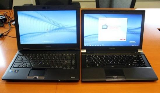 Toshiba actualiza sus Notebooks modelos Portégé y Tecra