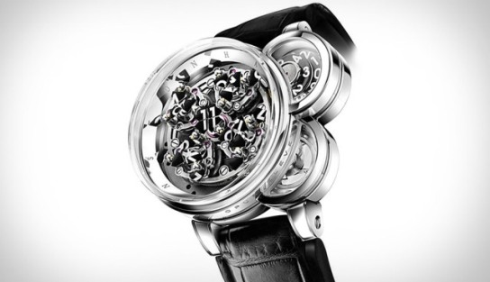 El reloj Opus Eleven: Una forma muy particular de darnos la hora exacta