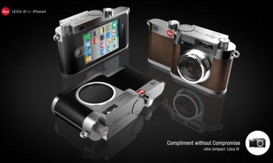 Leica i9: Dispositivo conceptual que transforma tu teléfono en una cámara de verdad