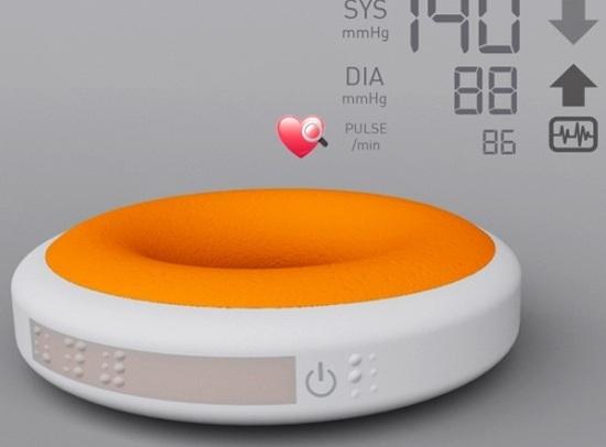 Tensio: Medidor de presión en novísimo diseño