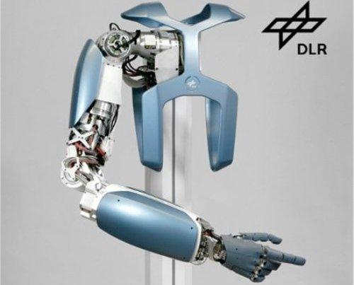 Moderno brazo robótico super fuerte y resistente
