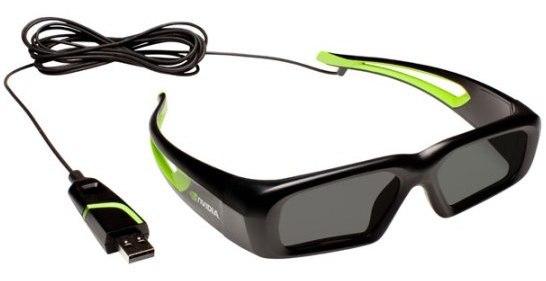 NVIDIA: Lanza lentes 3D Vision con USB 2.0