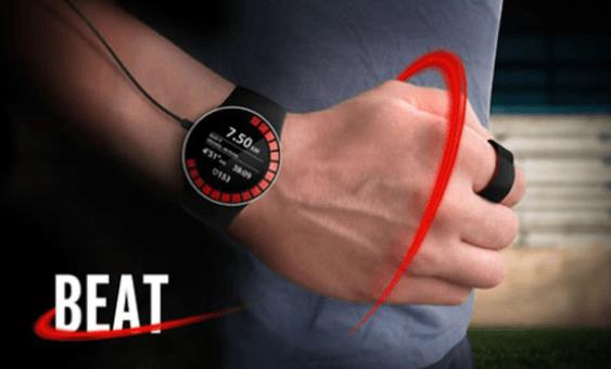 Reloj Beat: Moderno reloj de pulsera especial para corredores