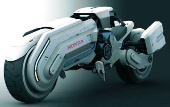 Honda Chopper Star Wars: Una moto de otra galaxia