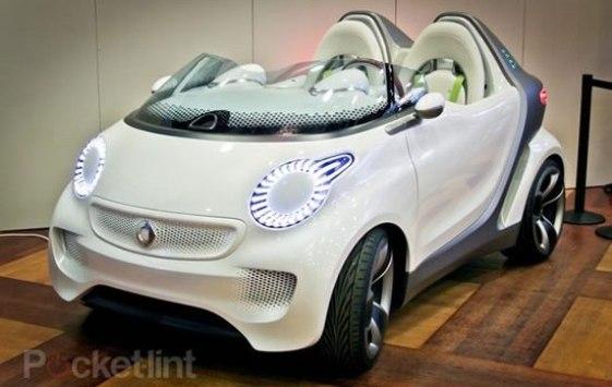 Smart Forspeed: El automóvil eléctrico del futuro