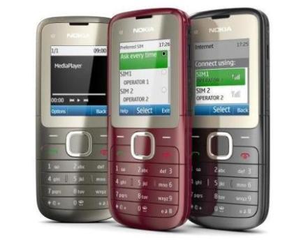 Nokia presenta su teléfono móvil C2-00