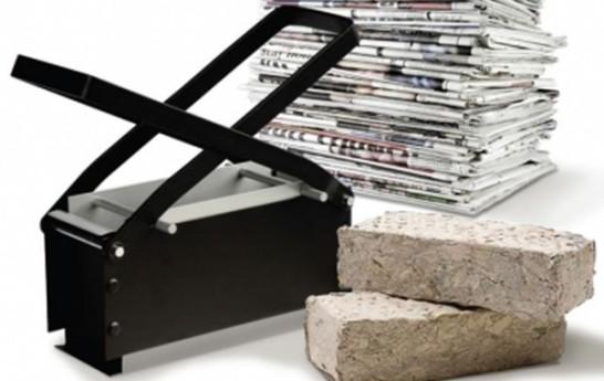 Paper Log Maker: Una práctica herramienta para hacer ladrillos de papel