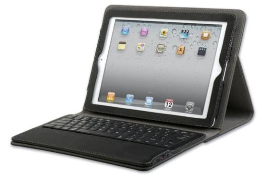 Qmadix: Portafolio con teclado extraíble Bluetooth para iPad 2