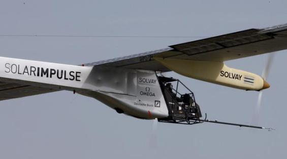 Avión Solar Impulse realizo con éxito su segundo viaje