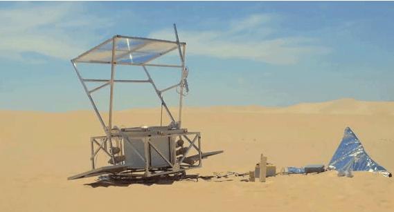 Solar Sinter: Impresora que funciona con energía solar e imprime vidrio