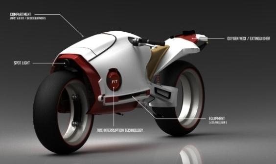 Cross Bill: Nuevo vehículo de bombero del futuro