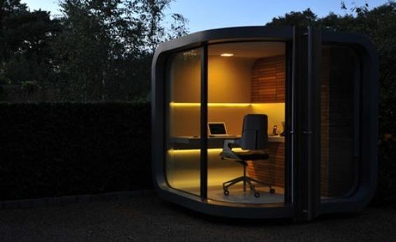 OfficePOD: Moderno espacio que permite continuar con tu trabajo fuera de la oficina