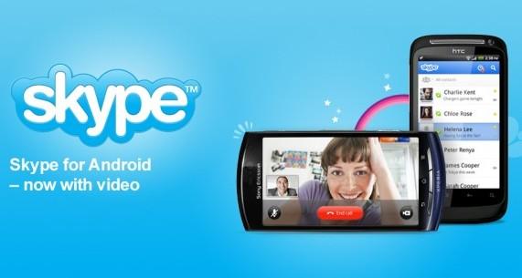 Skype para Android recibe actualización para realizar videollamadas