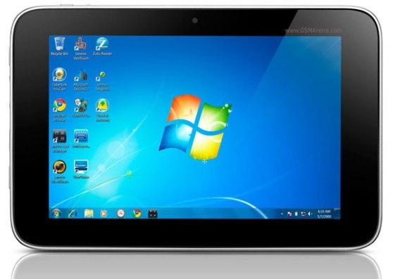 Lenovo lanza su Tablet electrónica IdeaPad P1 con Windows 7