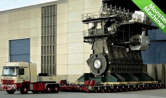 El Motor Diesel más grande del mundo