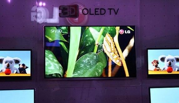 LG promete televisores OLED de 55″ para el 2012