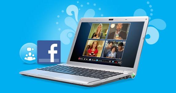 Facebook presenta su videochat de la mano de Skype