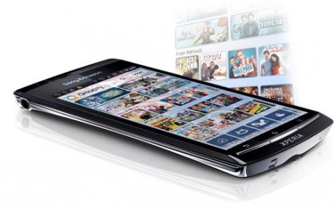 Sony incorpora alquiler de películas y series de TV a sus teléfonos móviles Xperia