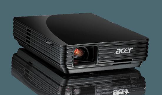 Acer C110, proyector que sólo necesita un cable USB