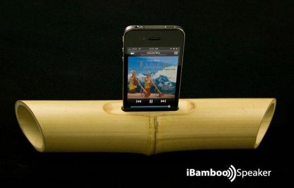iBamboo Speaker: Un altavoz natural para tu iPhone