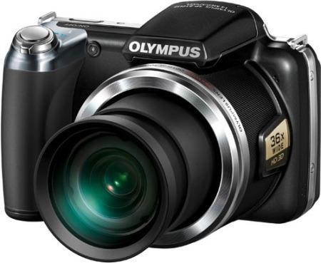 Olympus SP-810UZ: Cámara compacta con un gran zoom