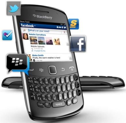 Los nuevos BlackBerry Curve 9350, 9360 y 9370 fueron presentados oficialmente